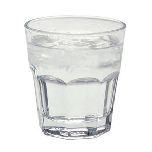 CASABLANCA ROCKS GLASS HEAT TREATED 12.25oz Clearridge patterned gla Packed 48