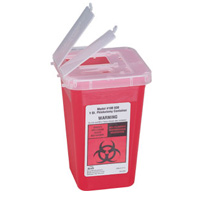 SHARPS DISPOSAL CONTAINER 1 QUART ***ON SALE!*** Needle, syringe & sharp disposal