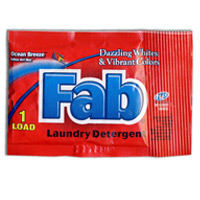 FAB DETERGENT PACKETTES .95oz (200) THIS DOES NOT FIT INTO VENDING MACHINES!