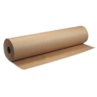 """BROWN LAUNDRY WRAPPING PAPER ON A ROLL - 30# WEIGHT 24"""" wide x 900' long"""