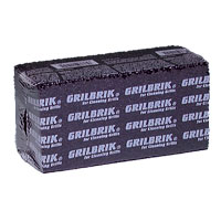 GRILL AND GRIDDLE BRICKS  (12), black