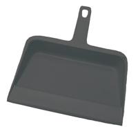 "PLASTIC DUST PANS  12"" Plastic dust pan"