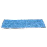 "RUBBERMAID® MICROFIBER ECONOMY DAMP MOP PADS 18"" Standard blue room mop"