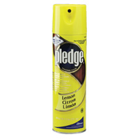 PLEDGE FURNITURE POLISH  Lemon, (6/14.2oz)