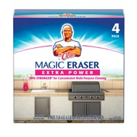 "XTRA POWER MR. CLEAN MAGIC ERASER 8 boxes containing 4 Erasers 4.6"" x 2.3"" x 0.7""..."