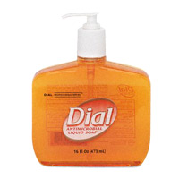 LIQUID DIAL ANTIMICROBIAL GOLD SOAP Table top dispensers Packed 12/16 oz.