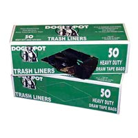 DOGIPOT™ TRASH BAGS FOR DOGIPOT™ PET STATION Brown Trash Can Liner Bags (50)