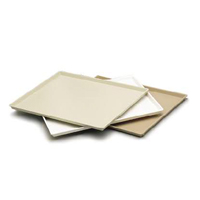 "CLASSIQUE ROOM TRAY  10x12.5"" Rectangular, Taupe Packed 1 each"