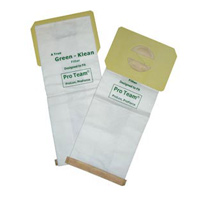 PRO-TEAM UPRIGHT VACUUM & ACCESSORIES Micro Filter bags (10)