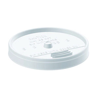 LIDS FOR STYROFOAM CUPS AND CONTAINERS For use with 8 oz cups. (1000)