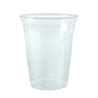 MEDIUM PLASTIC COLD CUPS  20 oz, Clear, Packed 1000
