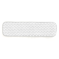 "HYGEN™ MICROFIBER DRY DUSTING SINGLE-SIDED MOPS 18"" White room dusting mop 18.5x5.5x0.5"""