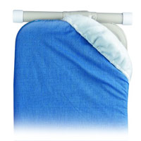 PRESSTO VALET® IRONING BOARD REPLACEMENT PAD 1-piece. Blue color. Fiber construction.