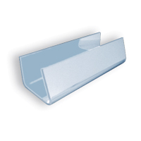 """ACRYLIC COFFEE STAND  Clear, 1"""" x 6"""". Packed 12"""