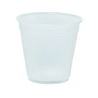 HARD PLASTIC TUMBLERS - UNWRAPPED 5 oz tumbler, Clear. (250)