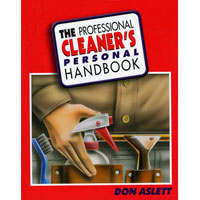 """THE PROFESSIONAL CLEANER'S HANDBOOK"" LOANER BOOK Do your cleaning job faster and better!"