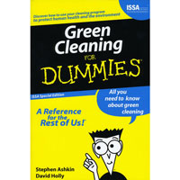 """GREEN CLEANING FOR DUMMIES"" LOANER BOOK All you need to know about green cleaning!"