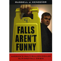"""FALLS AREN'T FUNNY"" LOANER BOOK Stories, statistics, charts and prevention tips."