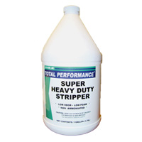 TOTAL PERFORMANCE SUPER HEAVY DU FLOOR STRIPPER #11328 Packed 4/1 gallon