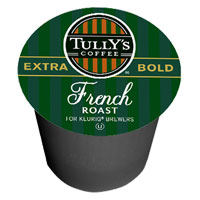 TULLY'S® PACKS K-CUPS® COFFEE FOR KEURIG® BREWER French Roast *Regular*