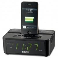 CONAIR® CLOCK RADIO WITH CHARGING DOCK CRD500 For iPod, iPhone, iPad