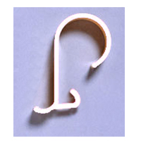 HOTEL SHOWER CURTAIN HOOKS  Champagne colored, packed 12