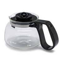 SUNBEAM REPLACEMENT EASY POUR CARAFE Glass w/Black [MUST BE ORDERED IN QUANTITES OF 6]