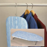 COMPACT TABLE TOP IRONING BOARD & COVER Easy open