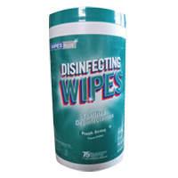 WIPESPLUS® DISINFECTING WIPES Fresh Scent 6/75 Self Dispensing Canister