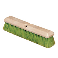 "VEHICLE WASH BRUSH  14"" brush w/Nylex bristles"