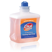 DIAL COMPLETE ANTIMICROBIAL FOAMING HAND WASH REFILL Packed 6/1 liter
