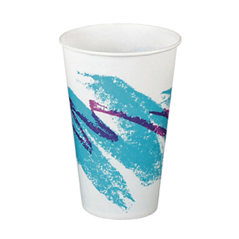 12oz JAZZ WAXED PAPER COLD CUP Packed 2000