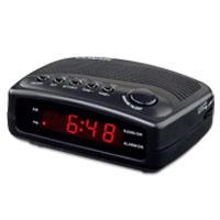 CONAIR® CLOCK RADIO  Black