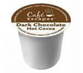 CAFÉ ESCAPES® KCUPS® COCOA Dark Chocolate