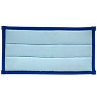 """eSERIES WALL WASH & HARD SURFACE CLEANING PADS Microfiber glass cleaning pad hook & loop 10x5"""" xtra foam back"""