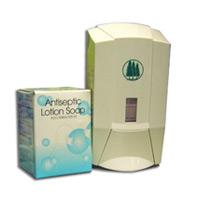 KU 2586DCV  ANTISEPTIC LOTION SOAP WHITE (6/800ml) PN:14349