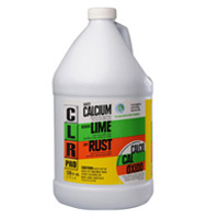 CLR® RUST CALCIUM LIME REMOV AND DESCALER Powerful multi-use cleaner 4/1gal
