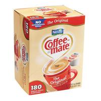 NESTLE COFFEE MATE LIQUID NON DAIRY CREAMER CUPS Packed 192/0.375oz mini cups
