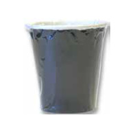 INDIVIDUALLY WRAPPED PAPER HOT CUPS 10 oz, black, packed 1000/cs