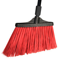 MAXISTRONG™ ANGLE BROOM Unflagged red bristles
