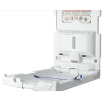 "VERTICAL BABY CHANGING STATION 19.5""x30.5""x32"" Light Gray"