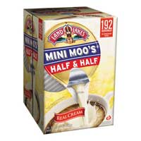 HALF & HALF LIQUID CREAMER CUPS SHELF STABLE PODS No refrigeration required! Packed 192/9ml