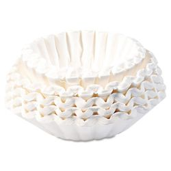 BUNN COFFEE FILTERS 12-CUP COMMERCIAL SIZE Packed: 1,000 each