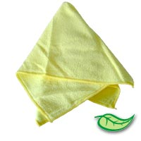 "MICROFIBER CLEANING TOWELS YELLOW Sold individually 16""x24"" cloths"
