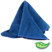 "MICROFIBER CLEANING TOWELS BLUE Sold individually 16""x27"" cloths"