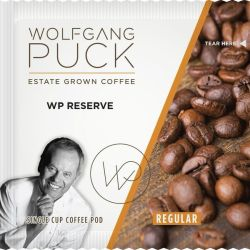 WOLFGANG PUCK'S® COFFEE IN 1 CUP FILTER POUCHES Signature, 8 gram pod Caffeinated, (300)