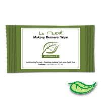 LA FRESH MAKEUP REMOVER WIPES IN GREEN WRAPPER 500 Wrapped towelettes