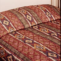 THE INN COLLECTION MIRAGE PATTERN - THROW STYLE Twin bedspread 81x110""