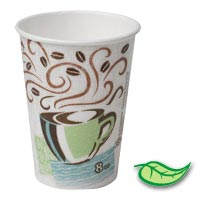 DIXE® PERFECTOUCH® PAPER HOT BEVERAGE CUP 8 oz Cups (960)