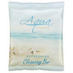 AQUA ORGANICS COLLECTION - CLEANSING BAR #75 Sachet Soap AQ21-CB075 packed 1000